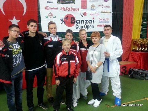 KADZAN, Banzai Cup Open, Berlīne, Vācija,2014
