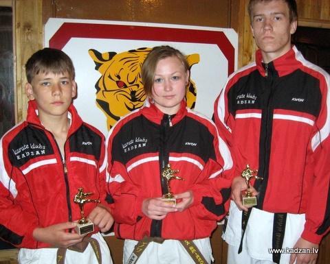 KADZAN, labākie sportisti, 2010