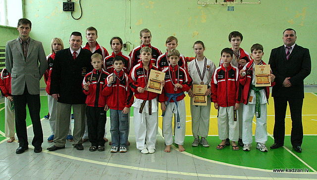 KADZAN, Plavinas Open, 2009