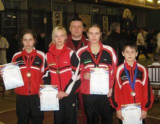 KADZAN, Atklātais karatē čempionāts, Pleskava, Krievija, 2008