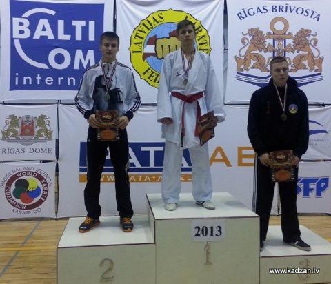 KADZAN, Riga Open, 2013