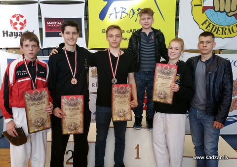 KADZAN, Rīgas karatē čempionāts Tan, 2015