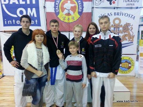 KADZAN, Atklātais jauniešu karatē sacensības, Salaspils, 2014