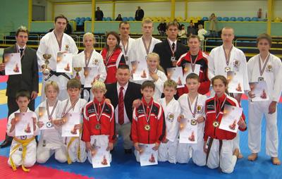KADZAN, Atklātais Latvijas karatē čempionāts, Lielvārde, 2007
