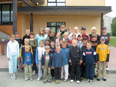 KADZAN, vasaras karatē nometne, 2008