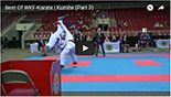 Best of WKF-Karate 3-kumite