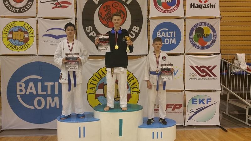Kadzan, karate, Salaspils Fudzi Cup, 2017