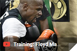 Training Floyd Mayvezer, box