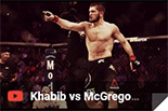 Khabib vs McGregor, box