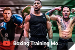 box training motivation, box
