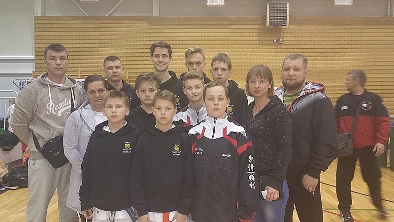 KADZAN kluba sportisti piedalās Salaspils atklātajā karatē čempionātā
